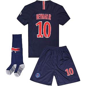 459208d6284d9 Amazon.com: Neymar Jr #10 Paris Saint-Germain (PSG) 2018-2019 Home ...