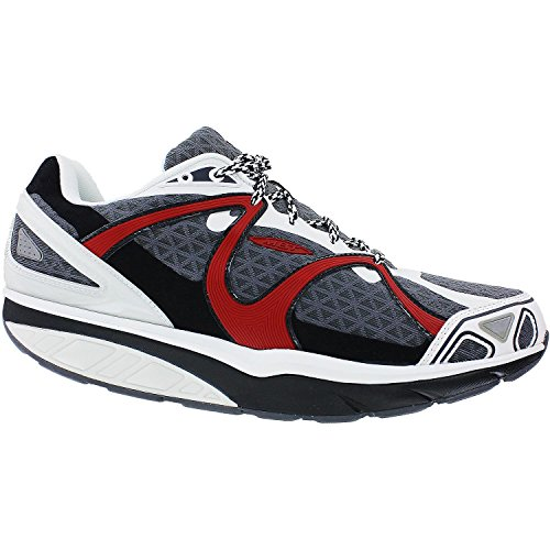 MBT Women's jango Specialty red/castle/blk/wht 13-13.5 M US Mbt Physiological Footwear