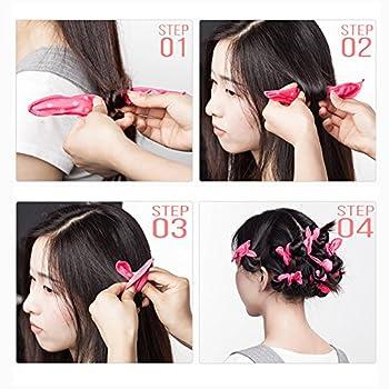 Hair Rollers Night Sleep Foam Hair Curler Rollers Flexible Soft Pillow Hair Rollers Diy Sponge Hair Styling Rollers Tools 4