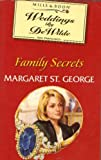 Front cover for the book Family Secrets by Margaret St. George