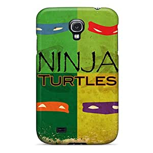 Excellent Galaxy S4 Case Tpu Cover Back Skin Protector Ninja Turtles