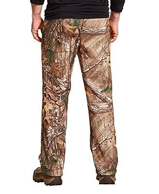 Under Armour Men's Realtree Scent Control Fleece Pants, Camo, 3XL