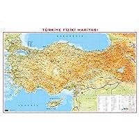 Gürbüz Yayınları 21014 Türkiye Fiziki 70 X 100