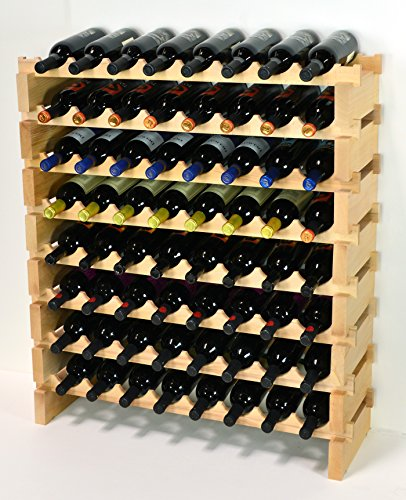 64 bottle wine rack - 1