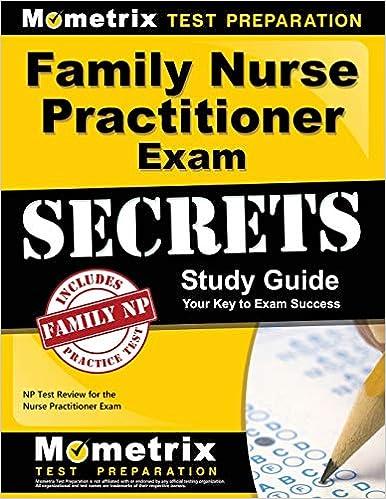 Family Nurse Practitioner Exam Secrets Study Guide: NP Test Review