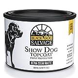Black Dog Salvage''Guard Dog'' Furniture Paint Topcoat, Matte, 500ml, Pint