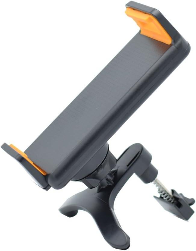 siwetg Soporte giratorio de 360˚ para rejilla de ventilación de coche para tablet GPS de 4 a 10 pulgadas