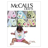 McCall's Patterns M6478 Bibs and Burp Cloths, One Size Only
