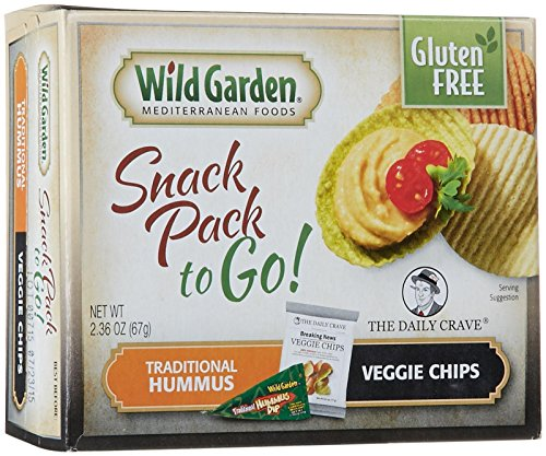 (Wild Garden Snack Combo to Go, Hummus & Veggie Chips - Traditional - 2.36 oz, (Pack of 6))