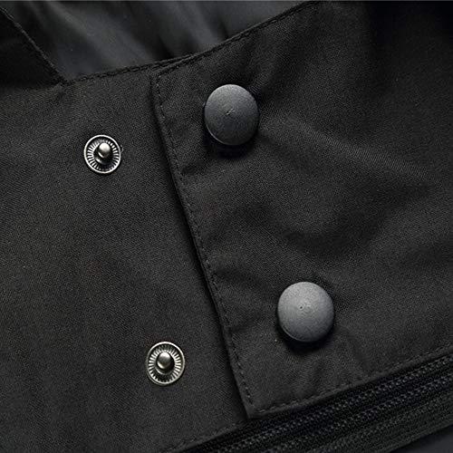 noir veste Xxl Manteau Hiver Homme manteaux Et large Trench Blousons x Homme Coat nxgSR
