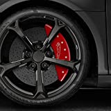 Upgrade Your Auto Red Leaper Logo Caliper Covers For 2017-2018 Jaguar F-Pace by MGP