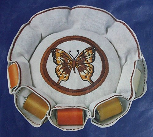 BUTTERFLY PIN CUSHION EMBROIDERY KIT 40029