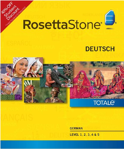 Rosetta Stone German Level 1-5 Set - Student Price (Mac) [Download]