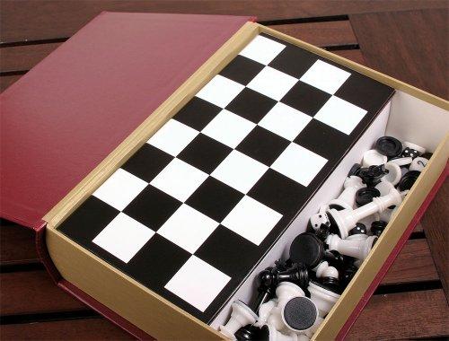Julita Chess Backgammon Checkers Storage product image