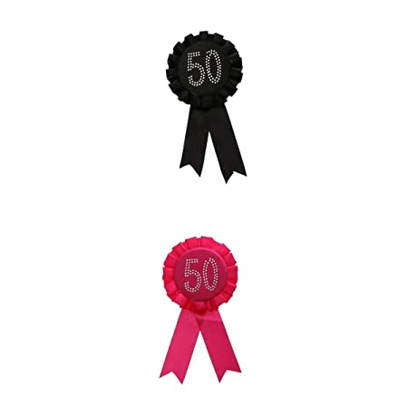 D DOLITY 2 Piezas Badge Insignia Cinta Broche de cumpleaños ...