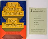 The Martian Chronicles, Bradbury, Ray, 0385038623