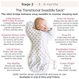SwaddleDesigns Transitional Swaddle Sack with Arms
