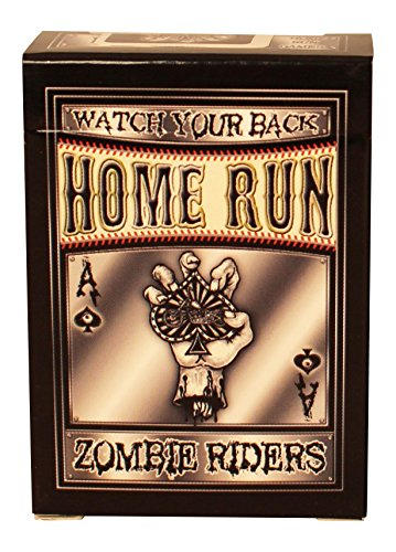 Zombie Riders Black Playing Cards