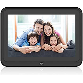 Amazon.com : Digital Picture Frame, HP 10.1 inch WiFi Photo Frame ...