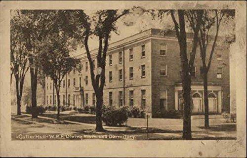 Cutler Hall, WRA Dining Room and Dormitory Schools & Education Original Vintage Postcard