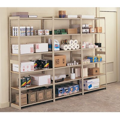 (Tennsco Regal Shelving Starter Set and Add-On Unit-)