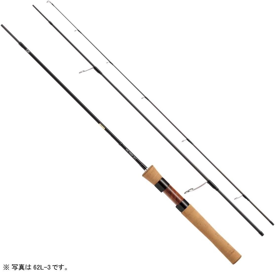 ダイワ(DAIWA) トラウトロッド スピニング ワイズストリーム 62L-3 ネイティブ トラウト 釣り竿