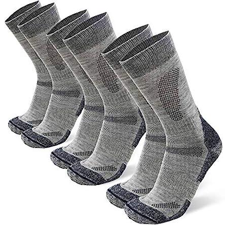 DANISH ENDURANCE Merino Wool Cushioned Hiking Socks...