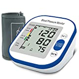 Blood Pressure Monitor, MIZOO Automatic Accurate Wrist Cuff Portable Irregular Heartbeat Monitor + 99 Set Memory with Large LCD Display & Adjustable Cuff for Home Use