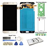 Display Touch Screen (AMOLED) Digitier Assembly with Stylus Pen Sensor for Samsung Galaxy Note 5 (V) N9200 N920A N920T N920V N920P N920R4 N920F N920W8 N920I (Phone Repair Replacement) (Gold Platinum))