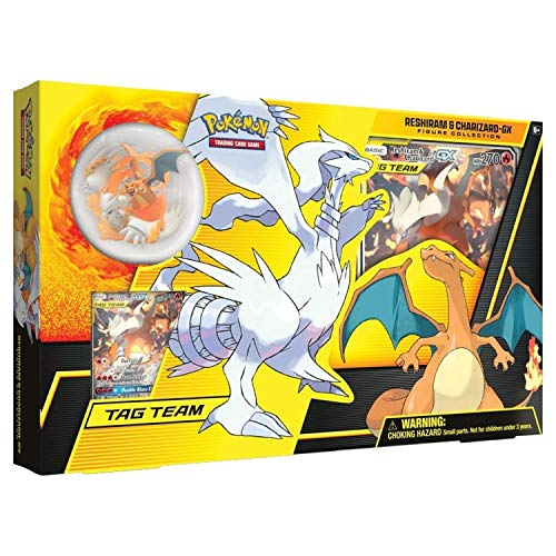 Pokemon TCG: Reshiram & Charizard-Gx Figure Collection