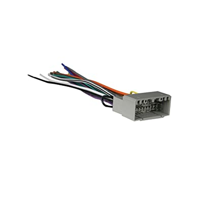 Metra 70-6502 Radio Wiring Harness For Chrysler 02-Up Power 4 Speaker: Car Electronics