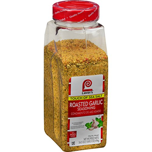 Lawry's Touch of Sea Salt, Roasted Garlic Seasoning, 24.5 Ounce