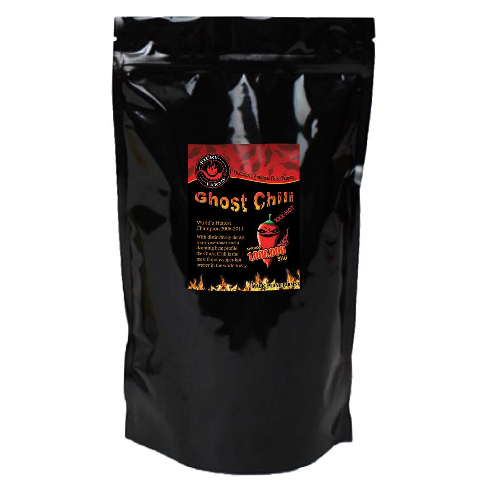 Bhut Jolokia Crushed | Ghost Pepper Flakes (1lb)