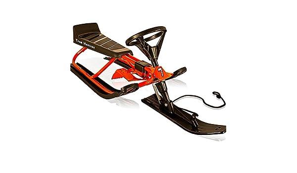Deuba - Trineo ligero con volante, color rojo: Amazon.es ...