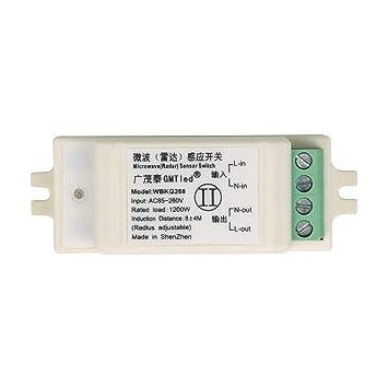 Zerama - Interruptor de Sensor de Infrarrojos para ...