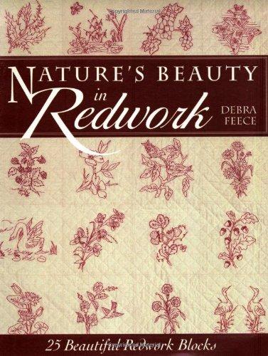 Blizzard Buddies - Nature's Beauty in Redwork