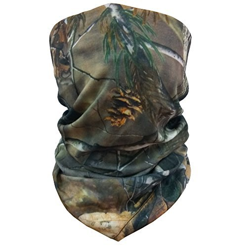 Walking Man 12-in-1 Versatile Headgear Breathable Running Headwear Multipurpose Cycling Balaclava Quick dry Tactical Mask Windproof Neck Gaiter Lightweight Hunting Scarf (tree≤af2)