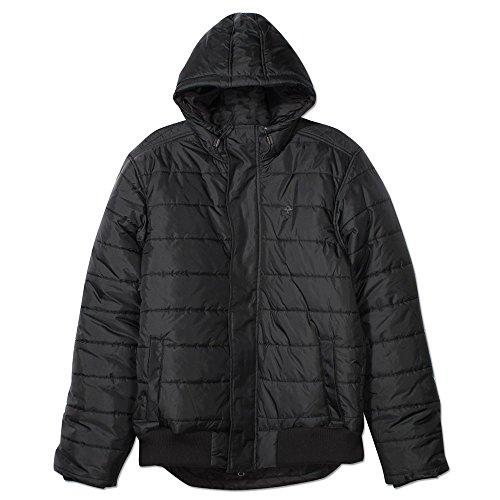 LRG Osborne Hooded Puffy Jacket Black by LRG