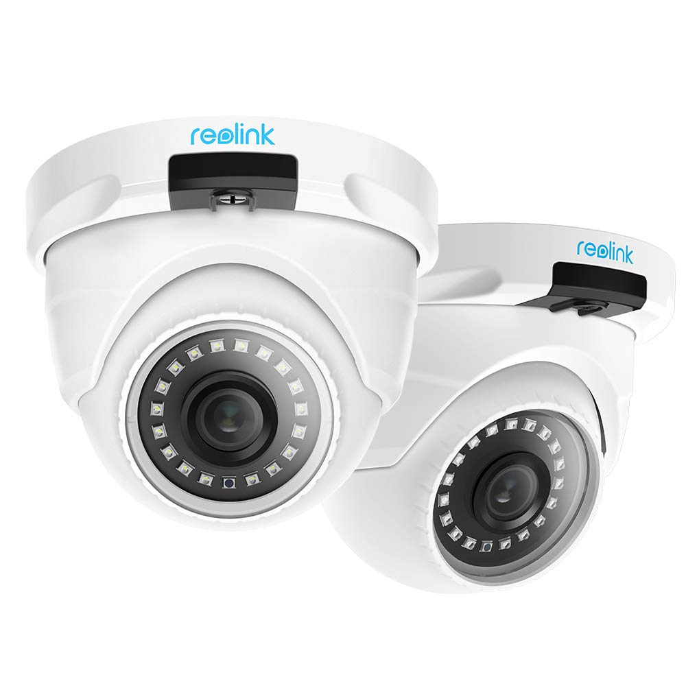 Reolink RLC-420-5MP (Pack of 2) PoE Camera Outdoor Video Surveillance Home Security Night Vision Motion Detection with SD Card Slot