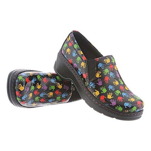Klogs Footwear Women's Naples Wide Hands Patent Size 075