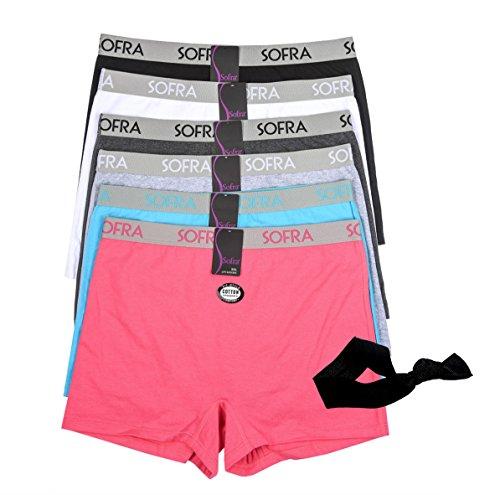 Sofra Essential Everyday Boyshorts Underwear