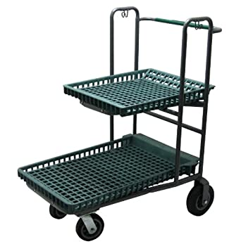 r w rogers two tier nesting garden center cart