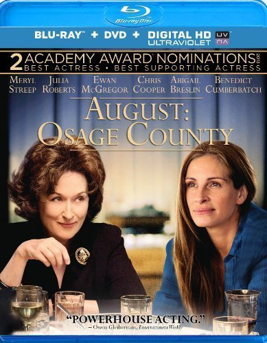 August: Osage County [Blu-ray] by ANCHOR BAY by John Wells