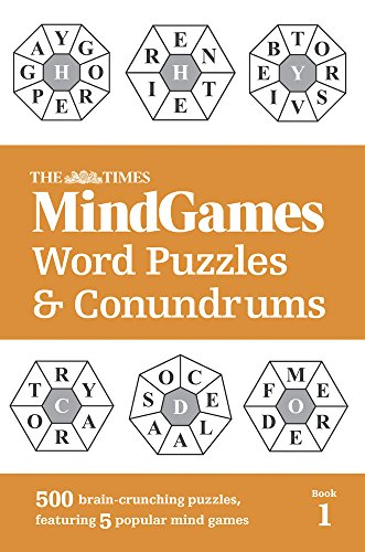 The Times MindGames Word Puzzles & Conundrums: Book 1