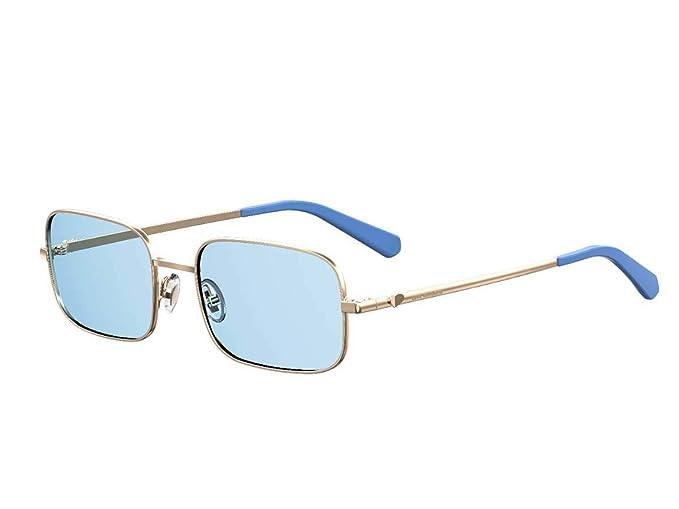 Moschino - Gafas de sol - para mujer Azul Oro Blu: Amazon.es ...