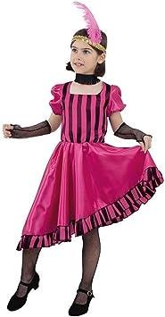 DISBACANAL Disfraz Can Can niña - -, 6 años: Amazon.es: Juguetes y juegos