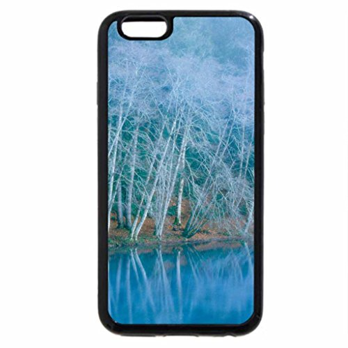 iPhone 6S / iPhone 6 Case (Black) Lake Cresent in Winter, Olympic National Park