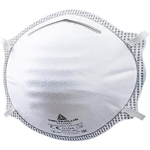 Elvex Box of 20 Moulded Disposable Half-Masks FFP2 (Pair) - M1200
