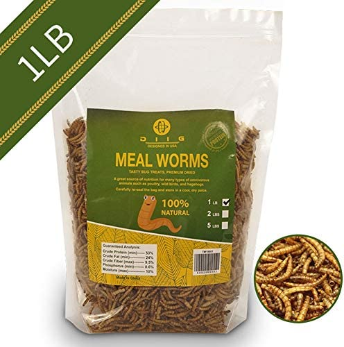 diig Non GMO Dried Mealworms Chickens product image