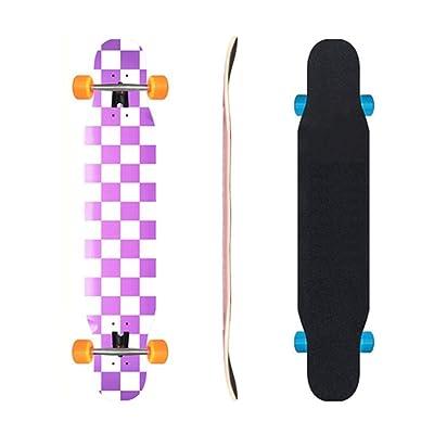 Aniseed Skateboards Longboard Cruiser Skateboard Deck Complete Zibaige 9.8-Inch X 46.0-Inch : Sports & Outdoors